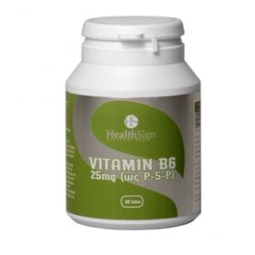 HEALTHSIGN Vitamin B6 25 mg (ως P-5-P) 60 tabs