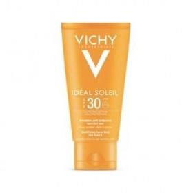 VICHY Ideal Soleil Αντηλιακή Κρέμα Προσώπου με Λεπτόρρευστη Αδιάβροχη Υφή για Ματ Αποτέλεσμα Ιδανική για Μικτές-Λιπαρές Επιδερμίδες SPF30 50ml
