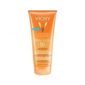 VICHY Ideal Soleil Έξτρα απαλό γαλάκτωμα-gel για νωπή ή στεγνή επιδερμίδα SPF50 200ml