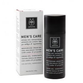 APIVITA Men's Care Κρέμα - Gel ενυδάτωσης με κέδρο & πρόπολη 50ml