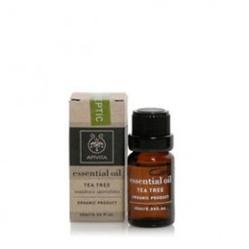 APIVITA Essential Oil Αιθέριο Έλαιο Tea Tree 10ml