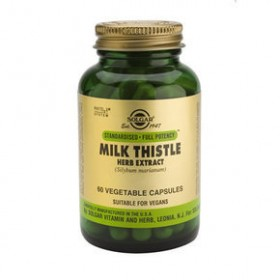 SOLGAR Milk Thistle Herb Extract 60 δισκία