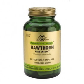 SOLGAR Hawthorn Herb Extract 60 δισκία