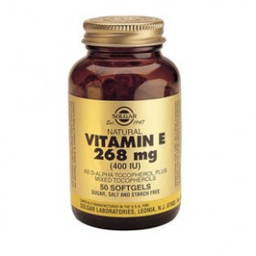 SOLGAR Vitamin E 268mg Natural 400IU 50 δισκία