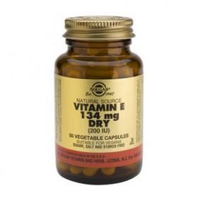 SOLGAR Vitamin E 134mg Dry 200IU 50 δισκία