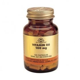 SOLGAR Vitamin B6 100mg 100 δισκία