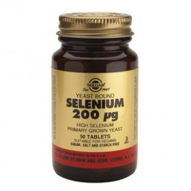 SOLGAR Selenium 200mg 100 δισκία
