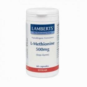 LAMBERTS L-Methionine Μεθειονίνη 500 mg 60 δισκία