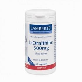 LAMBERTS L-Ornithine Ορνιθίνη 500 mg 60 δισκία