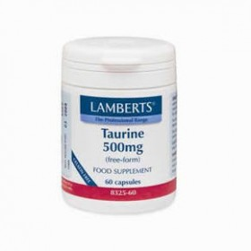 LAMBERTS Taurine Ταυρίνη 500 mg 60 δισκία