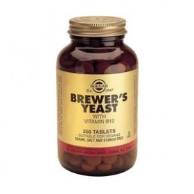 SOLGAR Brewer's Yeast wit Vitamin B12 250 δισκία