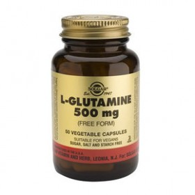 SOLGAR L-Glutamine 500mg 50 δισκία