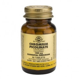 SOLGAR Chromium Picolinate 100mg 90 δισκία