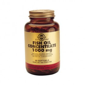 SOLGAR Fish Oil Concentrate 1000mg 60 δισκία