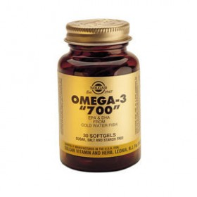 SOLGAR Omega-3 '700'  Double Strenght 30 δισκία