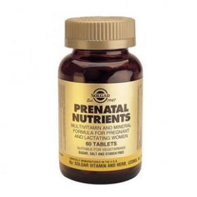 SOLGAR Prenatal Nutrients 60 δισκία