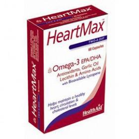 HEALTH AID HEARTMAX EPA/DHA 60 CAPSULES