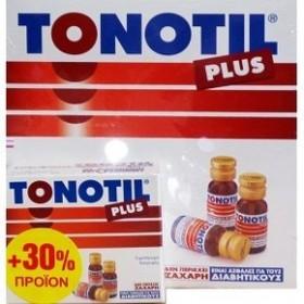 Tonotil Plus 10 ΑΜΠΟΥΛΕΣ 10 ml+ 3 Αμπουλες Δωρο