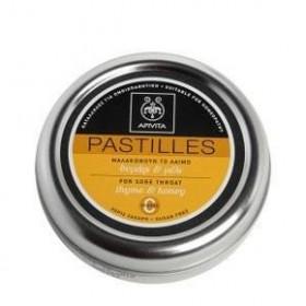 Apivita Παστίλιες με Θυμάρι και Μέλι
