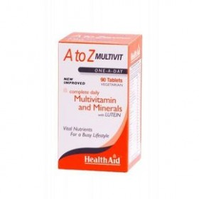 HEALTH AID A To Z Multivit 90 tabs