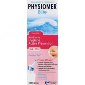 PHYSIOMER Baby Ρινικό διάλυμα Υγιεινή ενεργή πρόληψη 115ml