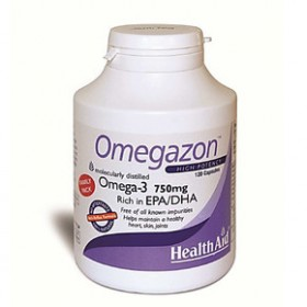 HEALTH AID OMEGAZON EPA/DHA 120 CAPSULES