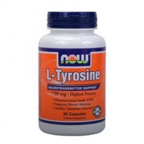 NOW FOODS L-Tyrosine 750 mg 90 Caps