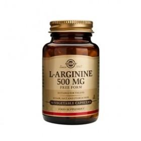 SOLGAR L-ARGININE 500 mg 50 δισκία
