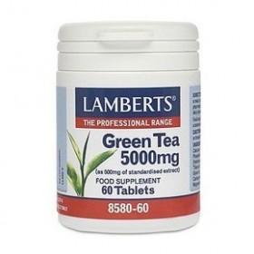 LAMBERTS Green Tea Πράσινο Τσάι 5000mg 60 δισκία