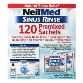 Sinus Rinse 120 Ανταλλακτικά φακελάκια