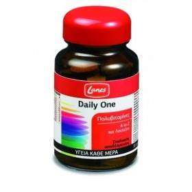 LANES Daily One Πολυβιταμίνες A to Z και Λουτεινη 30 ταμπλέτες