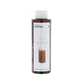 KORRES Σαμπουάν για Λεπτά-Αδύναμα μαλλιά με πρωτείνες ρυζιού και τίλιο 250ml