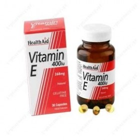HEALTH AID VITAMIN E 400IU 30 CAPS