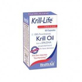 HEALTH AID KRILL OIL 60 CAPS