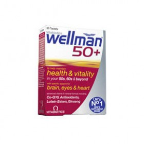 VITABIOTICS WELLMAN 50+   30tabs