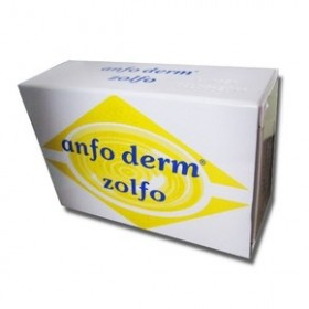 ANFO DERM Zolfo Κίτρινο Σαπούνι 100gr