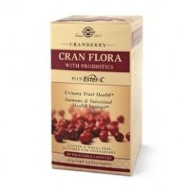 SOLGAR Cranflora with Probiotics Plus Ester C 60 caps