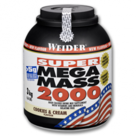 WEIDER Mega Mass 2000 Cream & Cookies 3kg