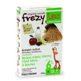 FREZYDERM Frezylac Βρώμη Ολικής Άλεσης Γάλα - Μήλο - Βανίλια 200gr