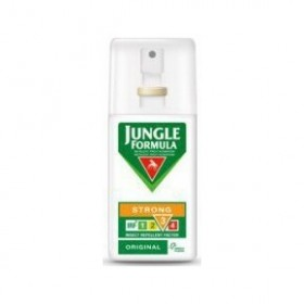 JUNGLE FORMULA Strong Original - Η απαραίτητη καθημερινή σας προστασία από τα κουνούπια 75ml