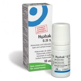 Hyabak Protector 0.15% 10ml Οφθαλμικές Σταγόνες