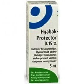 Hyabak Protector 0.15% 5ml Οφθαλμικές Σταγόνες