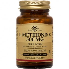 SOLGAR L- Methionine 500 mg 30 δισκία
