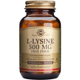 SOLGAR L-LYSINE 500 mg 50 δισκία
