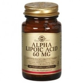 SOLGAR Alpha Lipoic Acid 60 mg 30 δισκία