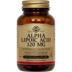 SOLGAR Alpha Lipoic Acid 120mg veg.caps 60s