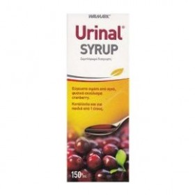 URINAL Με Εκχύλισμα Cranberry για την Καλή Υγεία του Ουροποιητικού Syrup 150ml