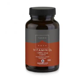 TERRANOVA Vitamin D3 Complex 1000iu (25ug) 50caps