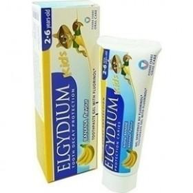 ELGYDIUM Kids Oδοντόπαστα με άρωμα μπανάνας 500ppm 50ml