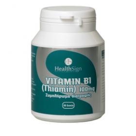 HEALTHSIGN Vitamin B1 (Thiamin) 100 mg 90 tabs
